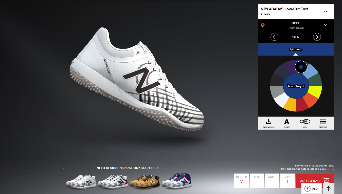 New Balance Custom Sneakers - Create
